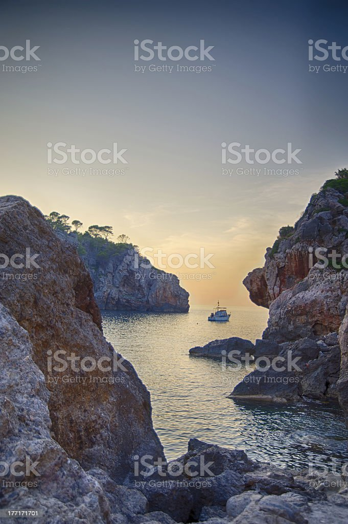 Cala de Deia - Majorca stock photo