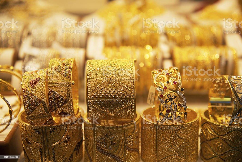Deira Gold Souq in Dubai, UAE stock photo