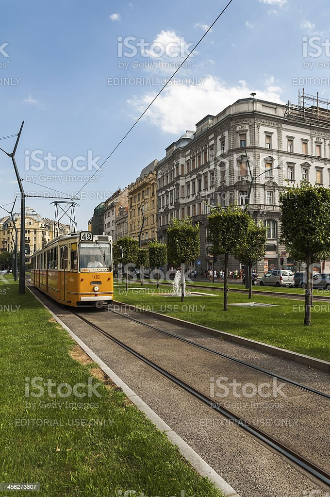 Deák Square, Budapest royalty-free stock photo