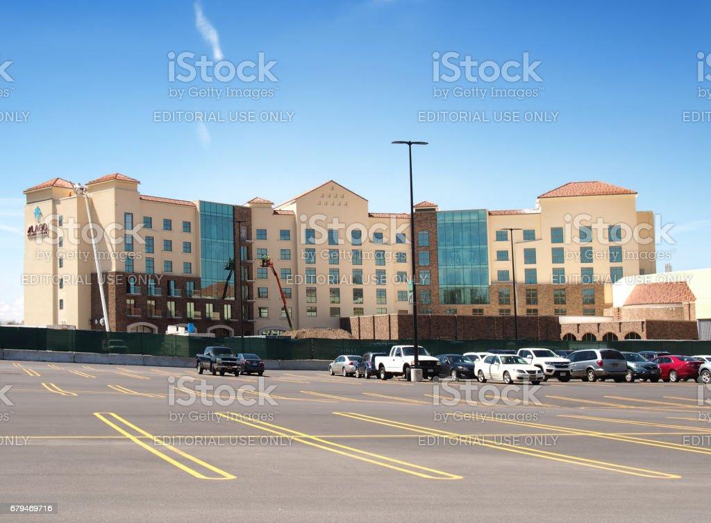 del Lago Casino and Resort 免版稅 stock photo