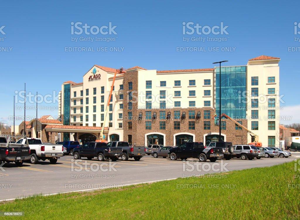 del Lago Resort and Casino stock photo