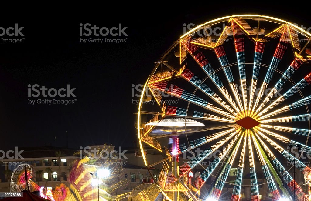 Del Mar Fair Scenic stock photo