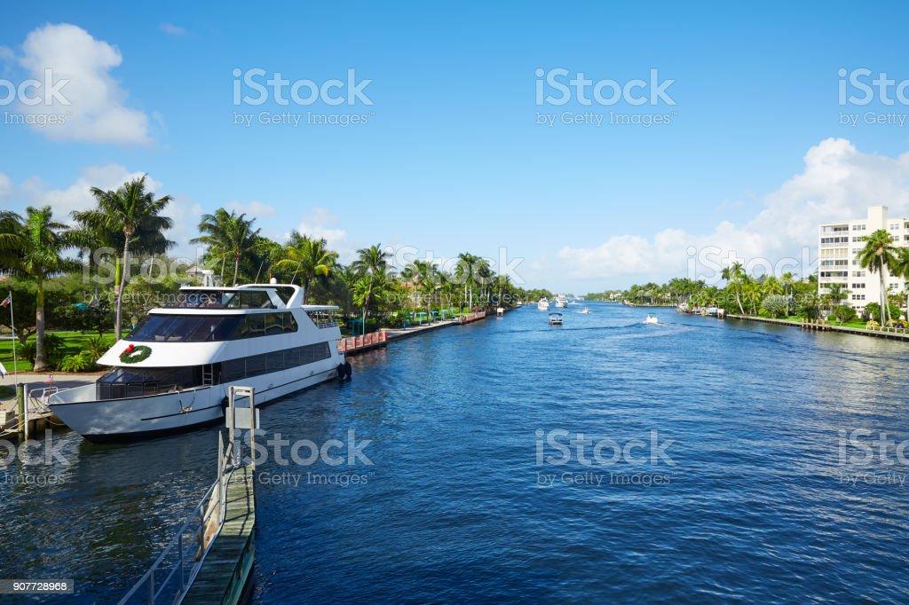 Del Ray Delray beach Gulf Stream Florida stock photo