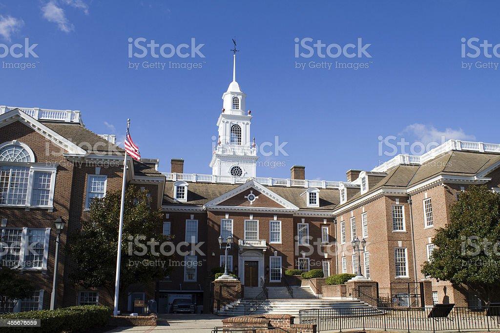 Delaware Capital Building stock photo