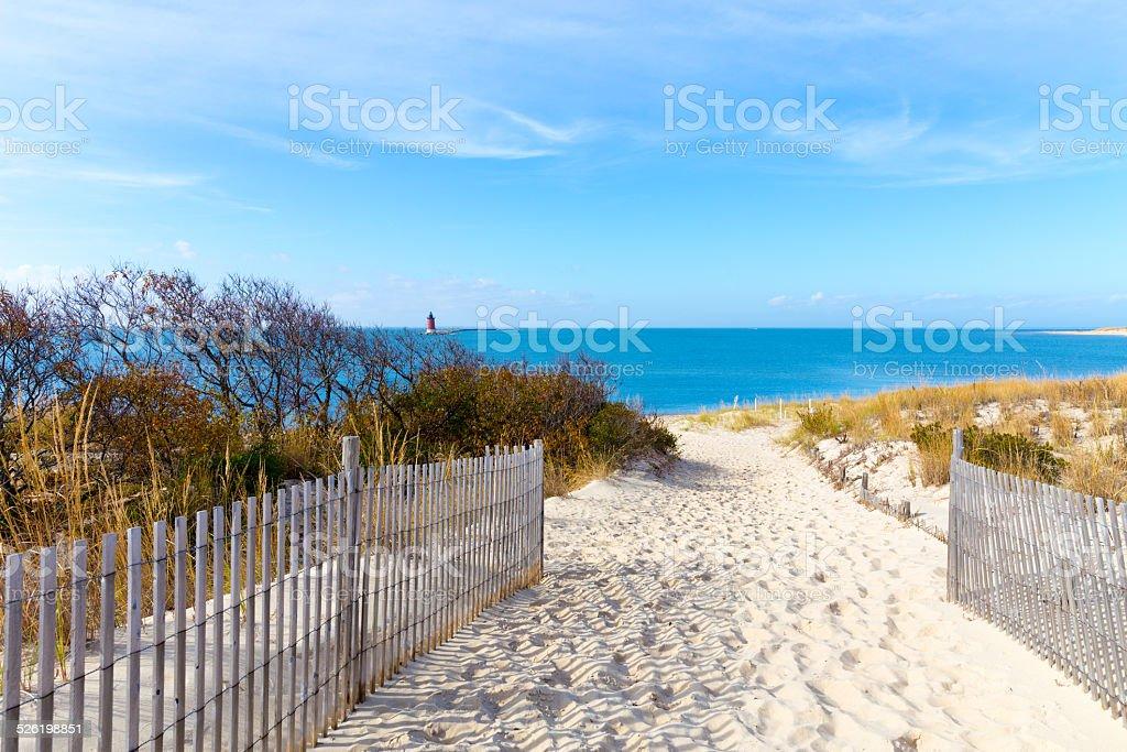 Delaware Coastal View stock photo