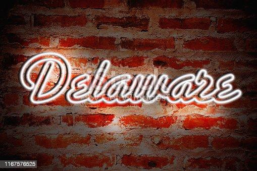 Delaware Neon Sign