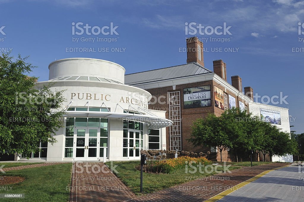 Delaware Public Archives royalty-free stock photo