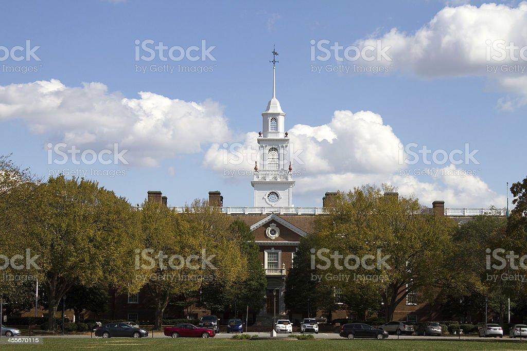 Delaware State Capital Building stock photo