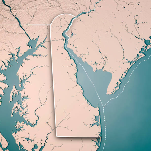 Delaware Bay Pictures Images And Stock Photos IStock - Delaware on usa map