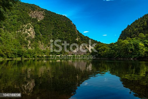 View on the Delaware Water Gap and Delaware River