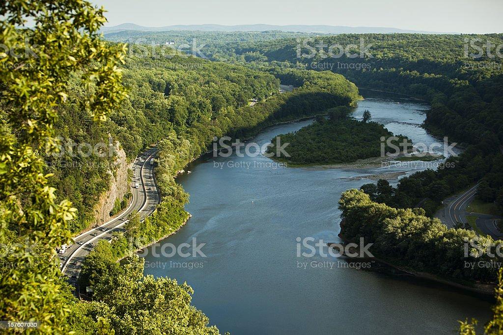 Delaware Water Gap stock photo