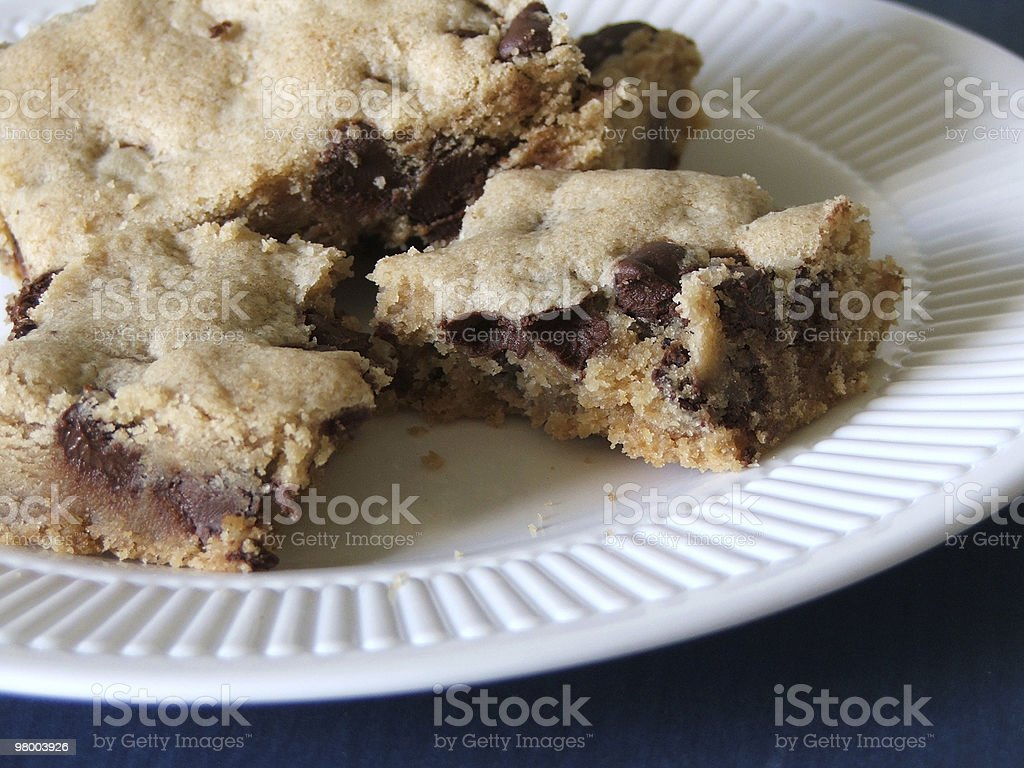 Delectable Cookie Bar royalty-free stock photo