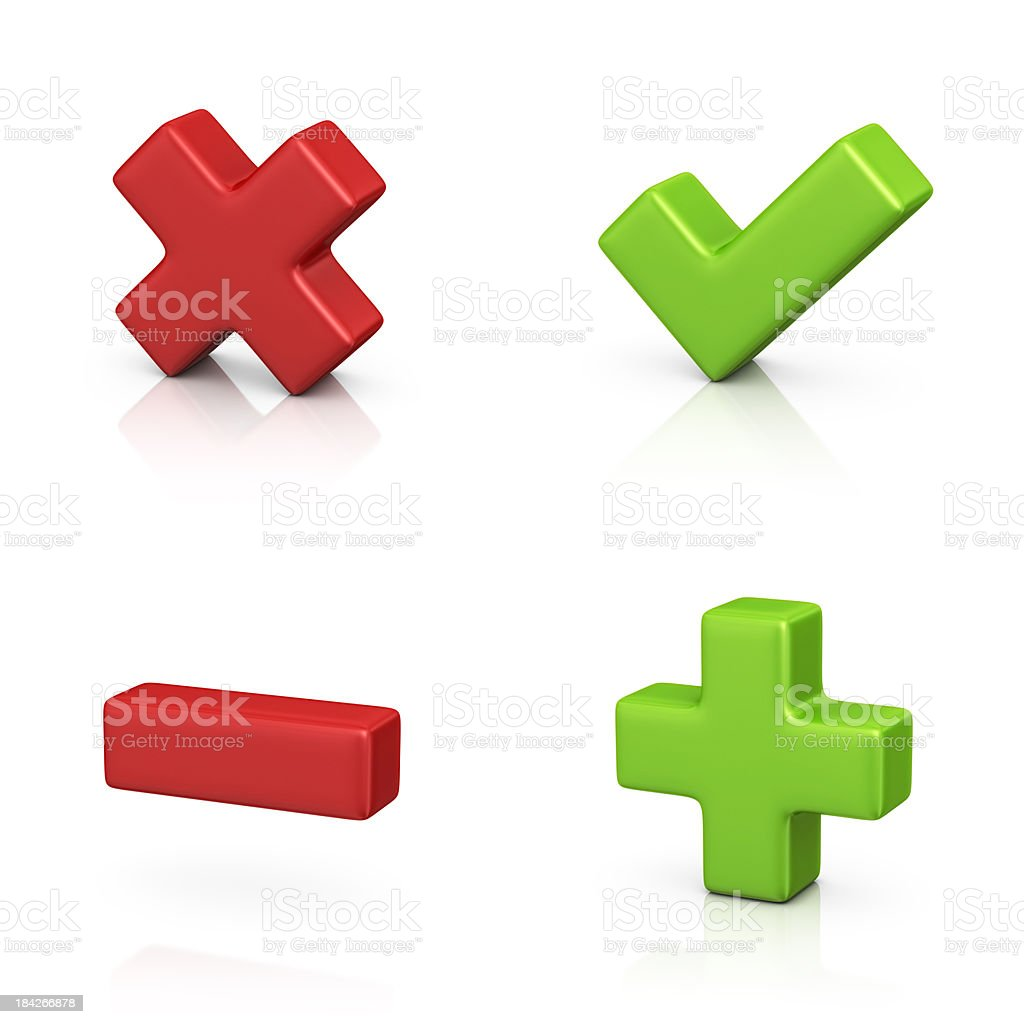 delete and add icons royalty-free stock photo