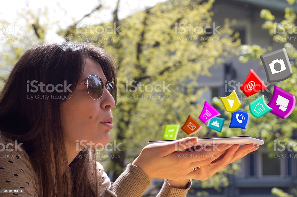 delete application stock photo