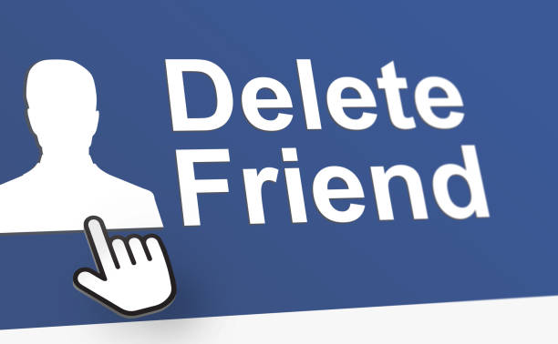 delete friend - delete key stock photos and pictures