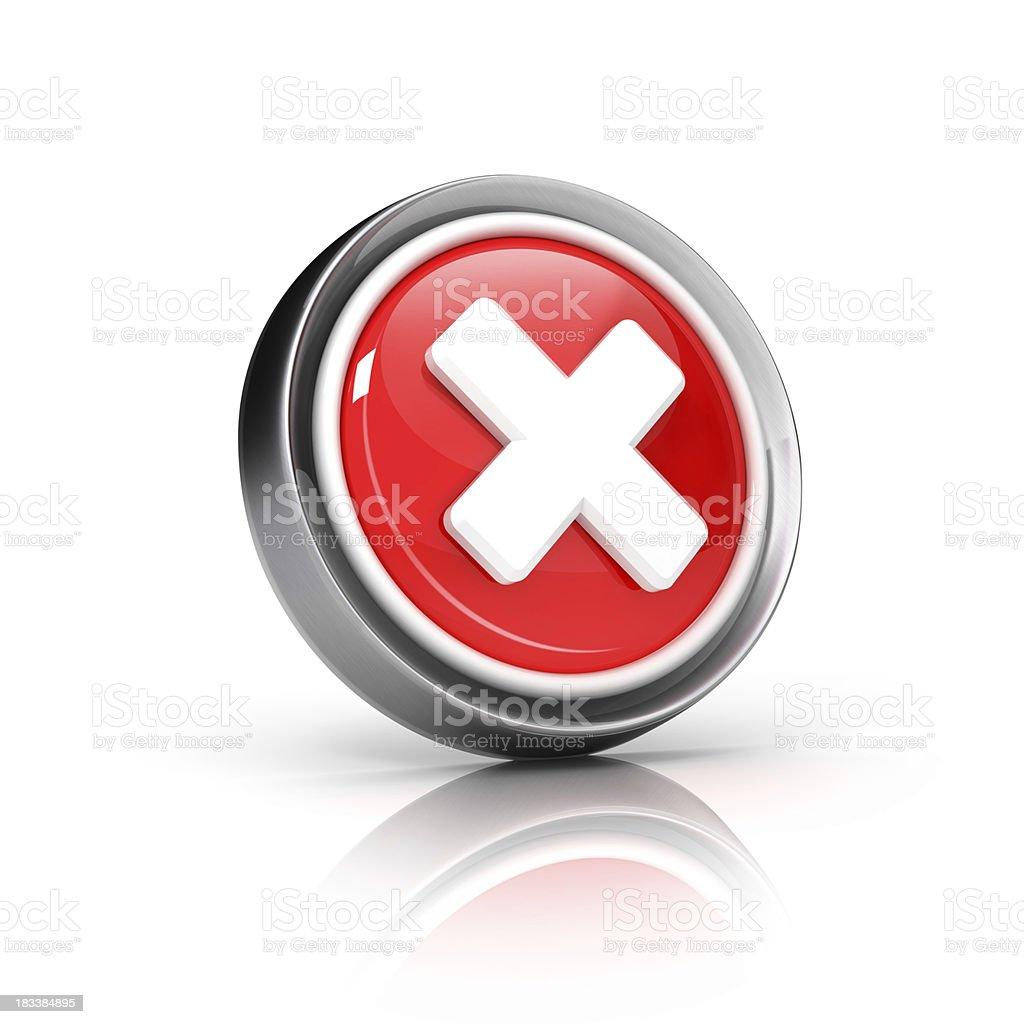delete or cancel key stock photo