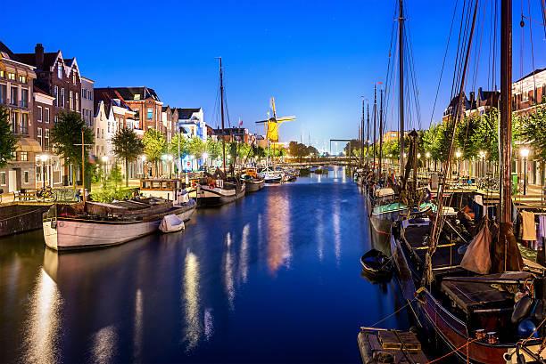 delfshaven a rotterdam - rotterdam foto e immagini stock