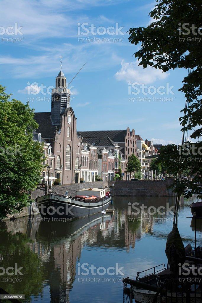 Delfshaven Pilgrims fathers church stock photo