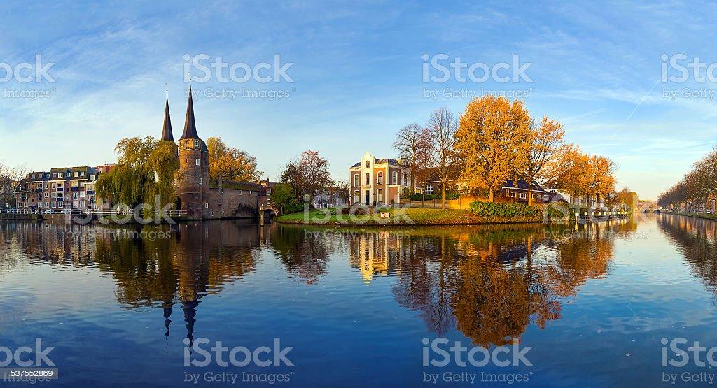 Delft Morning stock photo