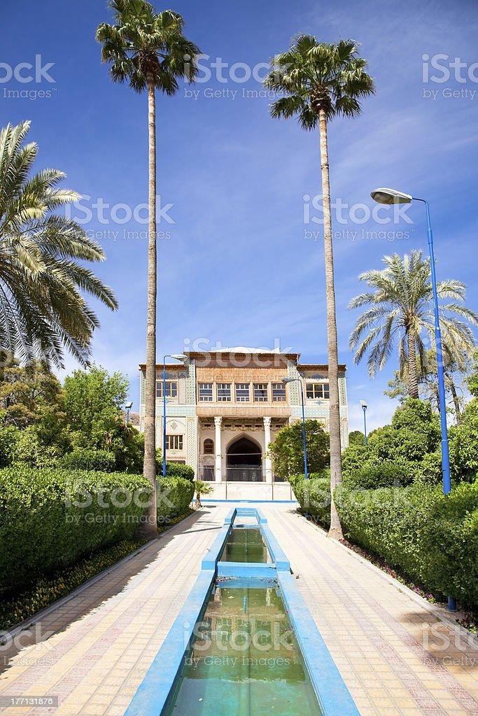 Delgosha Garden  in Shiraz, Iran stock photo