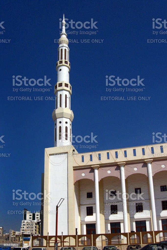 Delgosha Mosque in Bandar Abbas, Iran stock photo