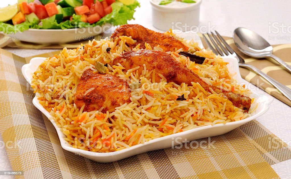 Delhi Biryani-5 stock photo