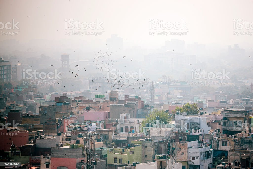 Delhi, cityscape royalty free stockfoto