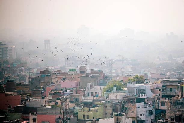 Delhi, cityscape stock photo