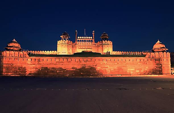 Delhi Red Fort, New Delhi, India stock photo