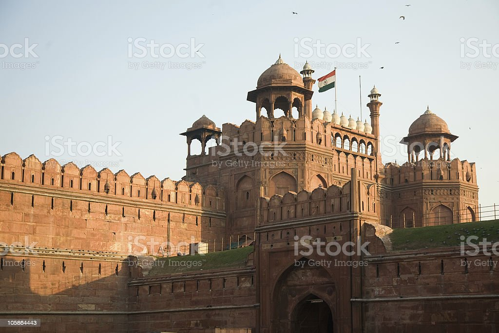 Delhi Red Fort stock photo