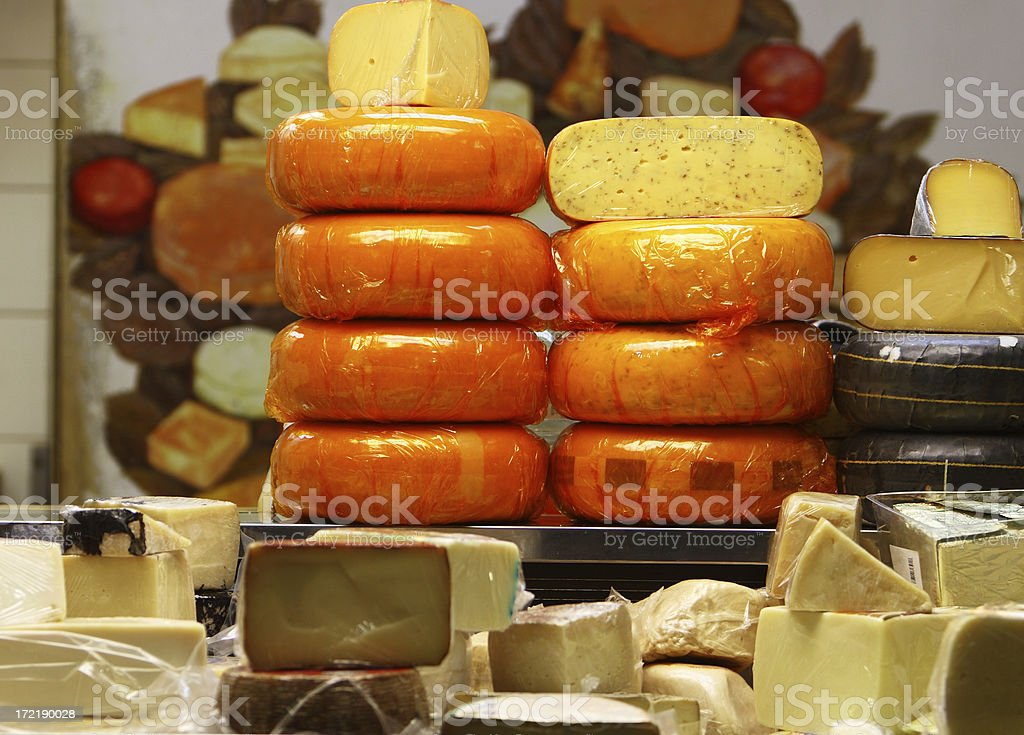 Deli Cheese royalty-free stock photo