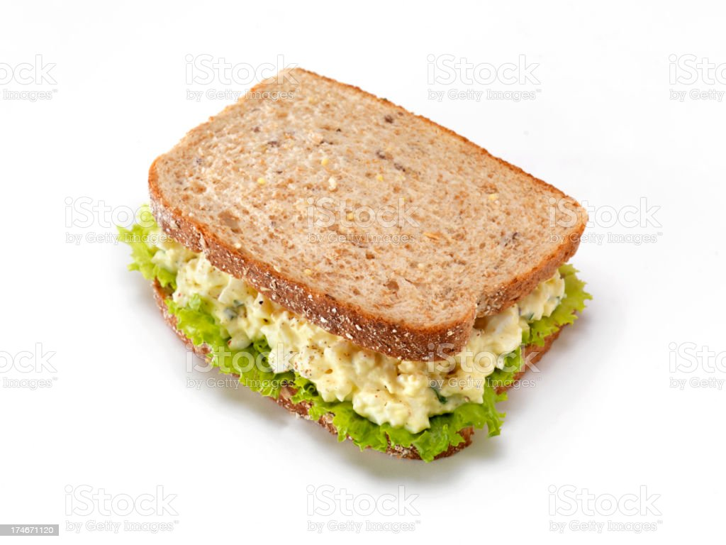 Deli, Egg Salad Sandwich royalty-free stock photo