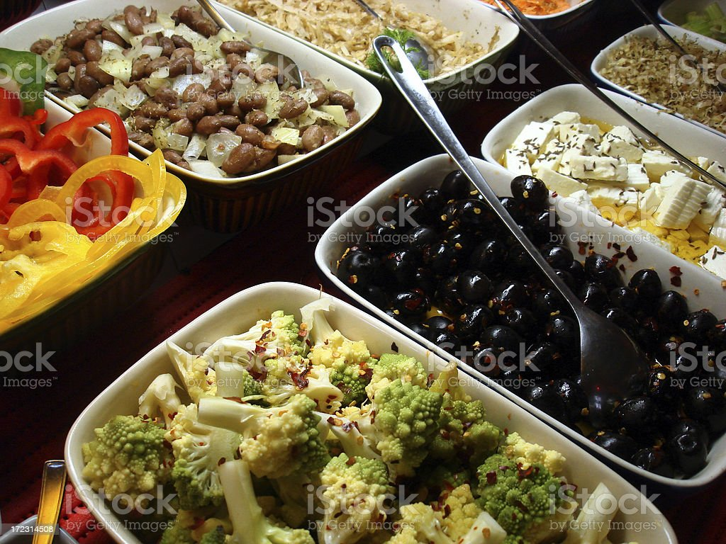 Deli Offerings royalty-free stock photo