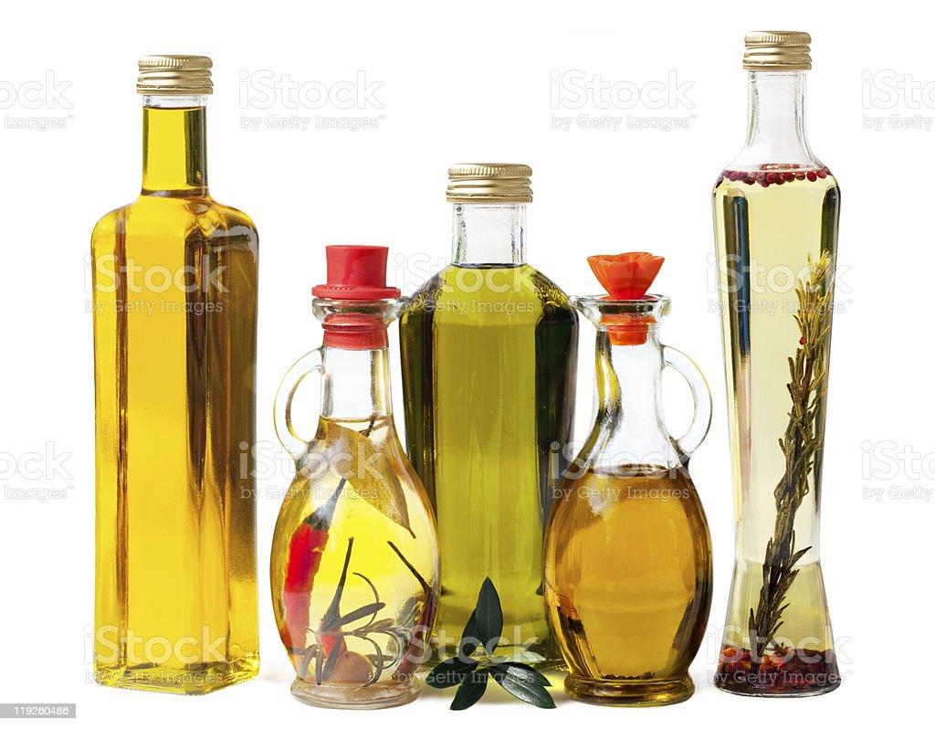 Deli Olive Oel in Bottles royalty-free stock photo