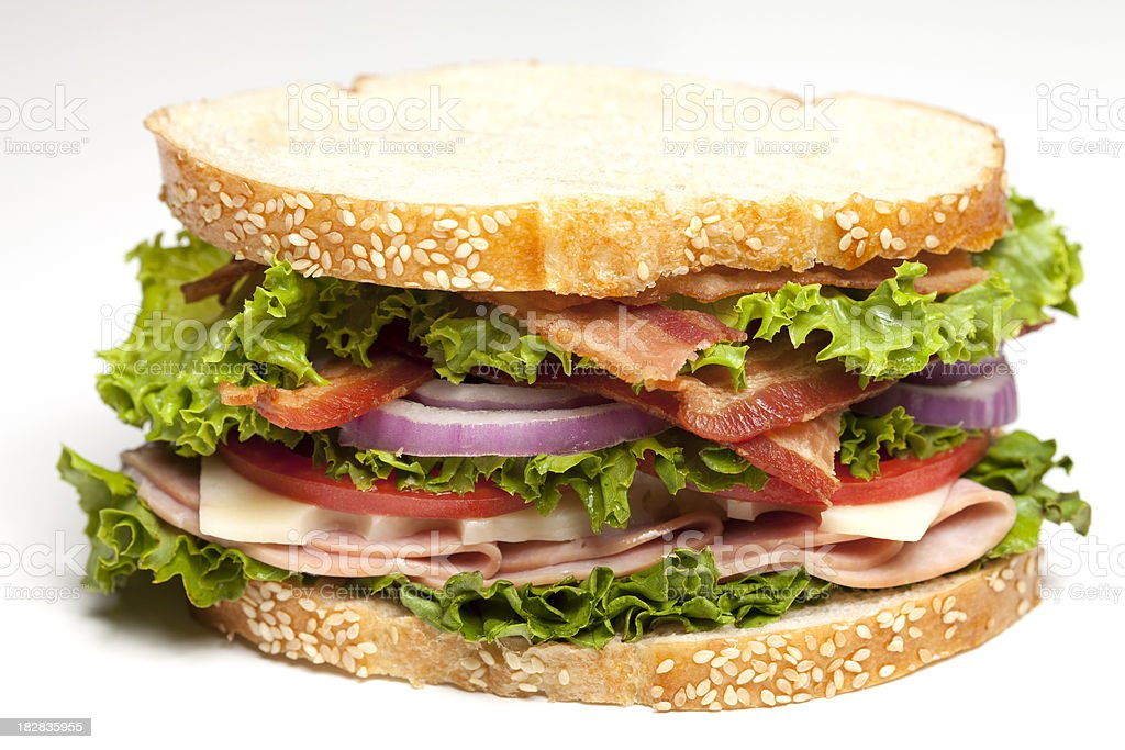 Deli Sandwich royalty-free stock photo