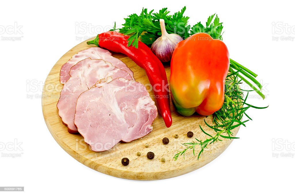 Delicacy pork with pepper royalty-free stock photo