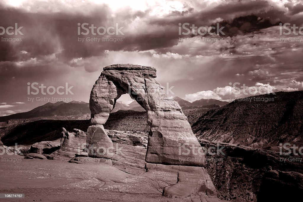 Delicat arch royalty-free stock photo