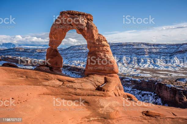 Delicate Arch Arches National Park Utah Stock Photo - Download Image Now