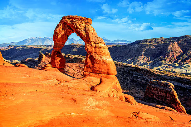 Delicate Arch, Arches National Park, Utah Delicate Arch, Arches National Park, Utah delicate arch stock pictures, royalty-free photos & images