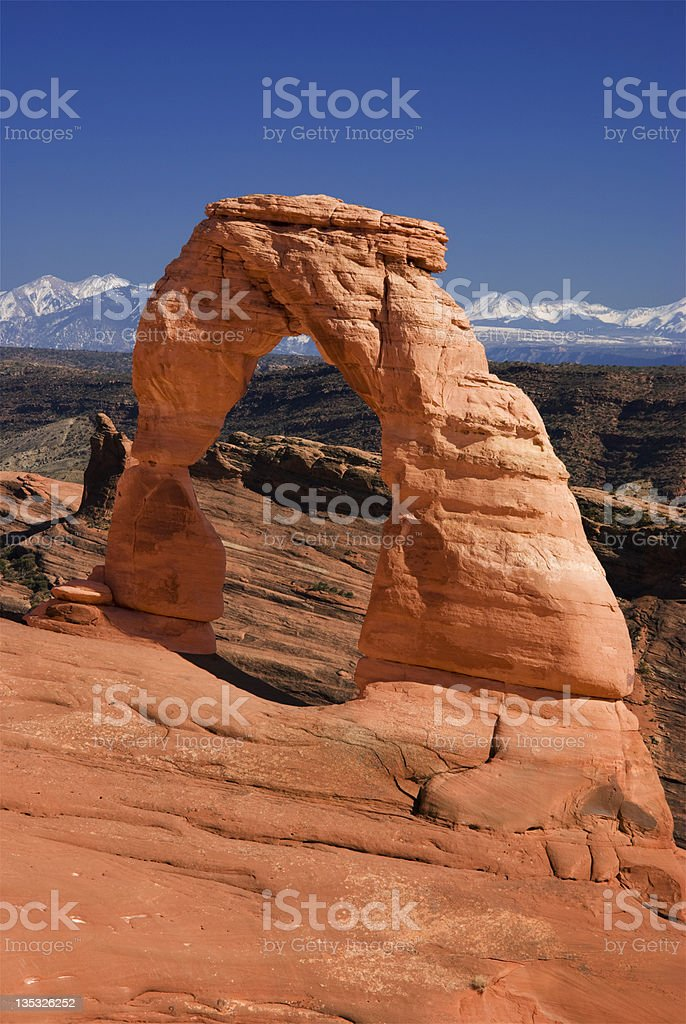 Delicate Arch HAV royalty-free stock photo