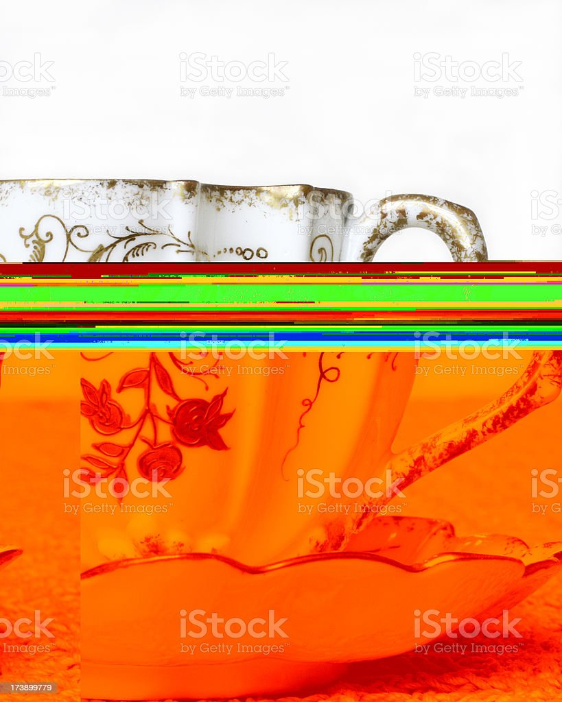 Delicate China Tea Cup royalty-free stock photo