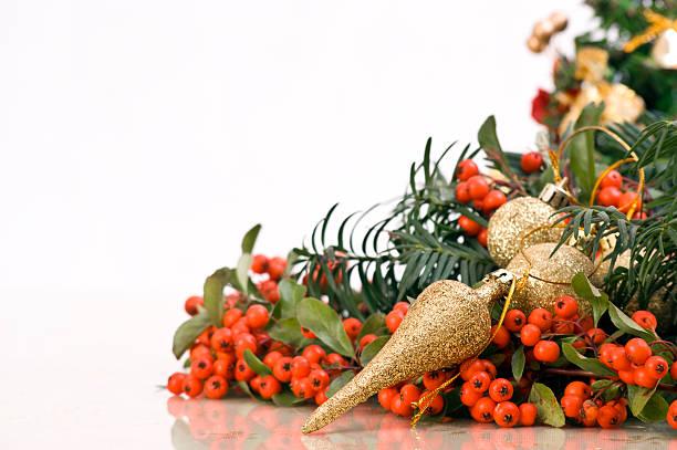 Delicate Christmas Decoration stock photo