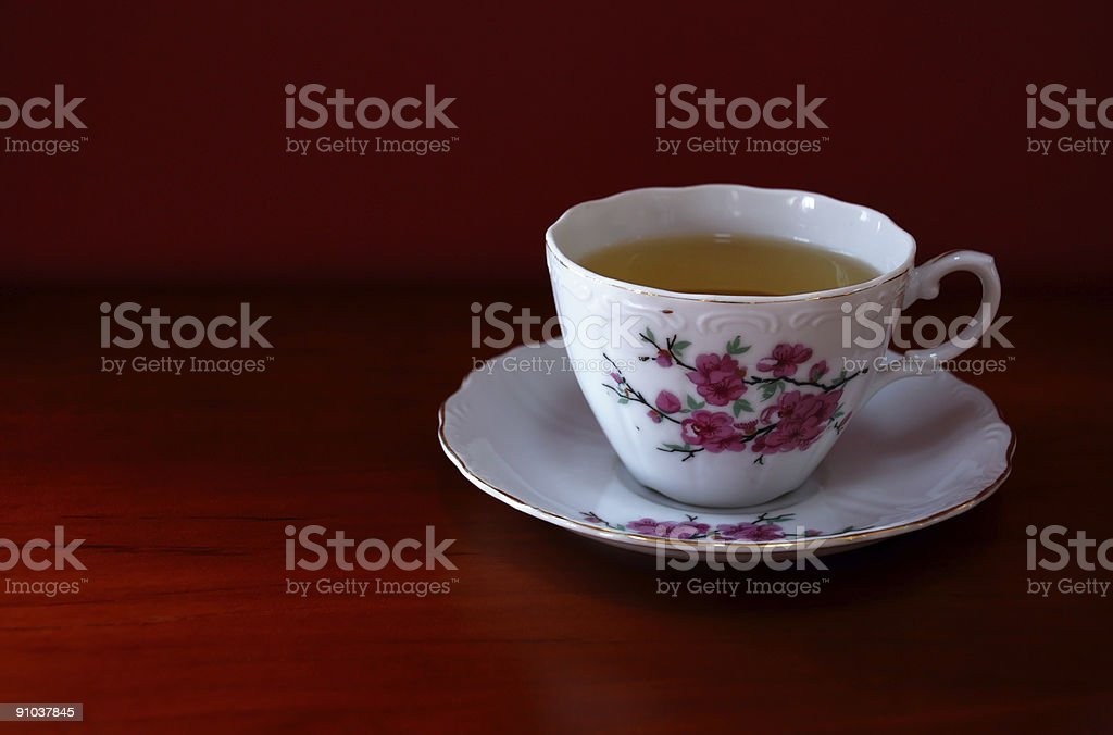 Delicate Tea Cup royalty-free stock photo