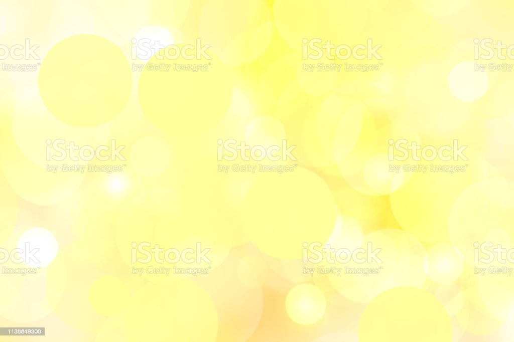 Delicate Yellow Abstract Bokeh Texture Background Useful For Presentation Or Desktop Wallpaper Stock Photo Download Image Now