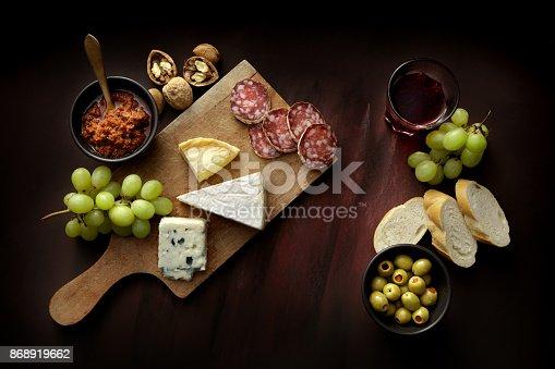 Delicatessen: Cheese Board Still Life