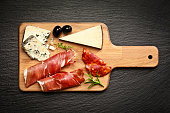 Delicatessen: Prosciutto and cheese