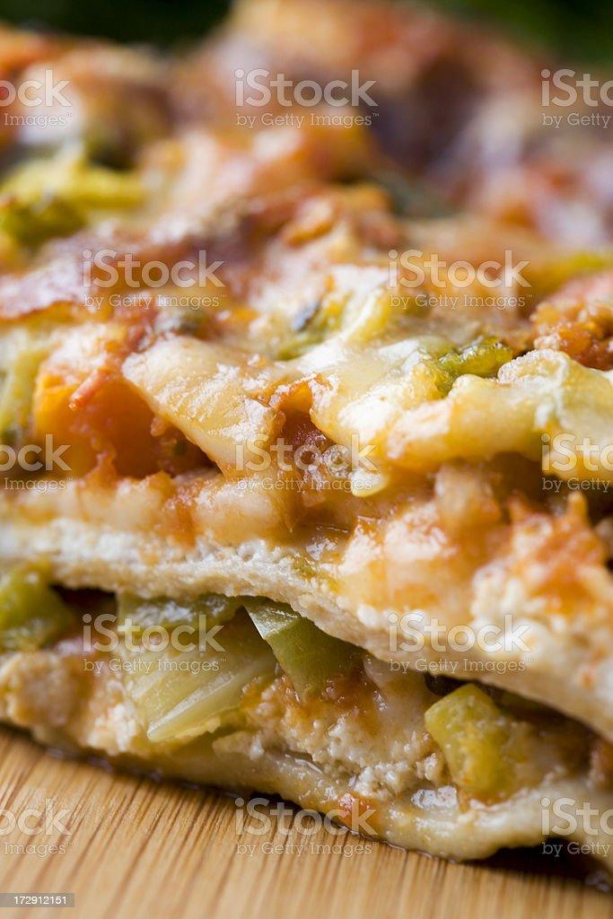 delicioius lasagna royalty-free stock photo