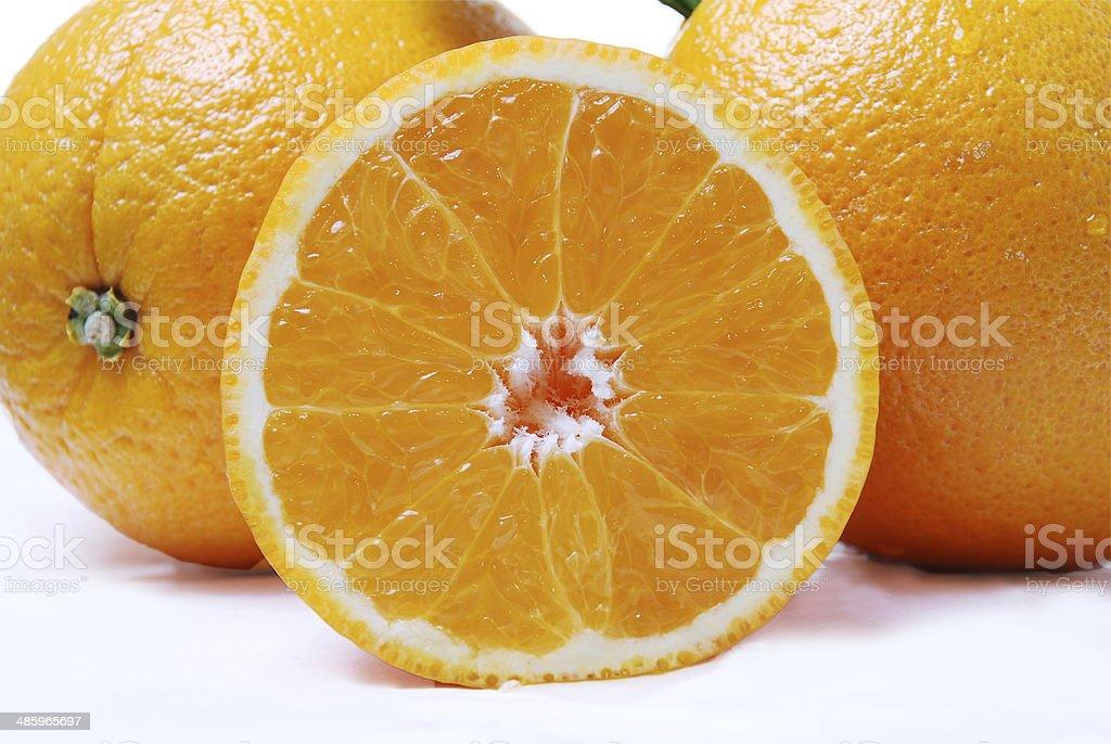 Deliciosas naranjas para jugo stock photo