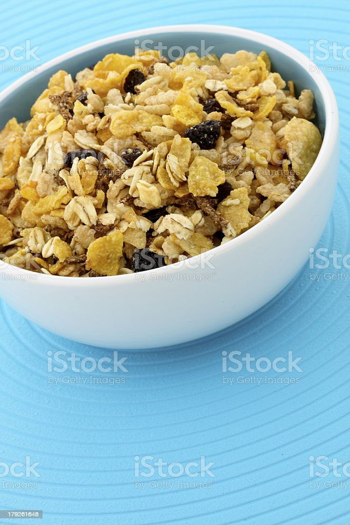 delicious and healthy granola royalty-free stock photo