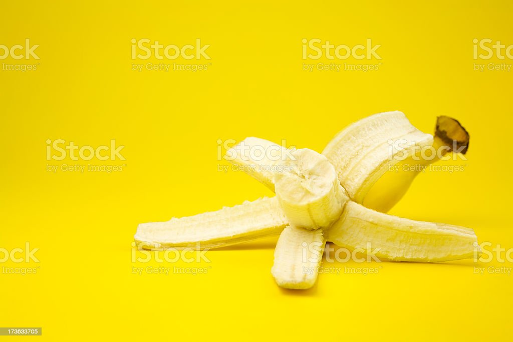 Delicious banana royalty-free stock photo